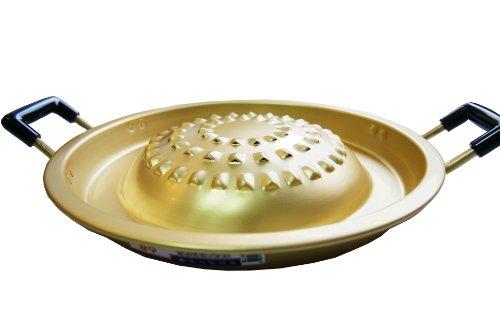 Bulgogi Korean Style BBQ Beef Smokeless Tabletop Grill Plate Pan, Cookware