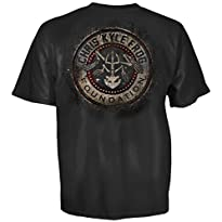 Chris Kyle Frog Foundation Gritty Distressed USA Logo T-Shirt