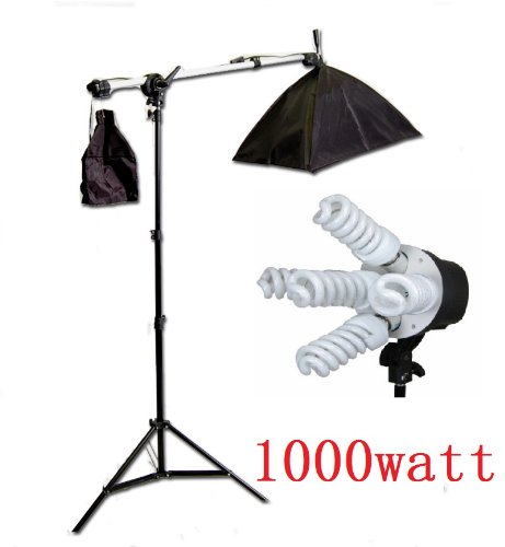 CanadianStudio Pro Photo Studio Lighting 1000 Watt Boom Arm Stand Set -FREE SHIPPING FROM CANADA