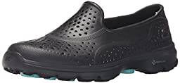 Skechers Performance Women\'s H2 Go Water Shoe, Black/Black, 7 M US