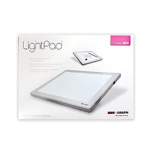 Artograph 11-3/5-Inch by 14-3/6-Inch Light Pad Light Box