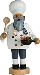 KWO Cook Chef German Christmas Incense Smoker Handcrafted Erzgebirge Germany New
