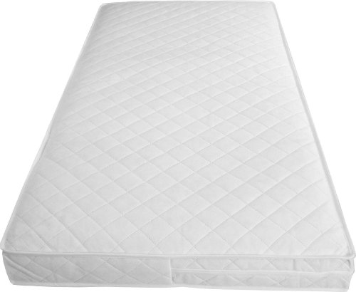 Babies Firsts 127X64Cm Luxury Spring Interior Cot Mattress With An Edge Bound Cover, An Extra Comfort Layer And Spare Cover back-935925