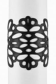 Urban Lace Reflection Recycled Inner Tube Bracelet