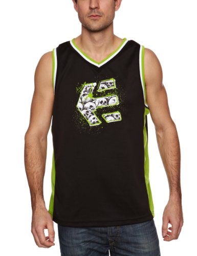 Etnies Busta Tank Men's Vest Black/Green Medium