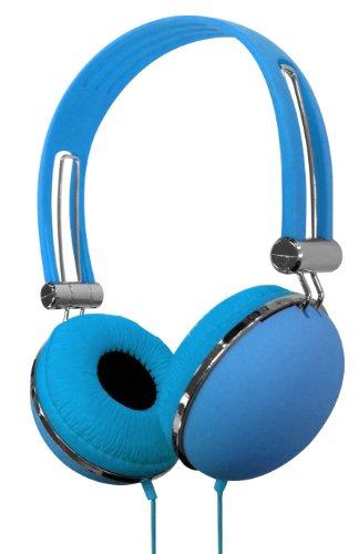 Vibe Vs-830-Dj-Blu Soft Touch Headphones