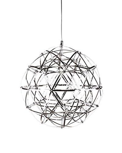 Control Brand The Universe 42-Light LED Lamp, Chrome