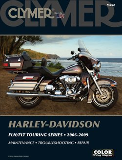 Clymer Manual - Harley-Davison FLH/FLT Touring Series M252