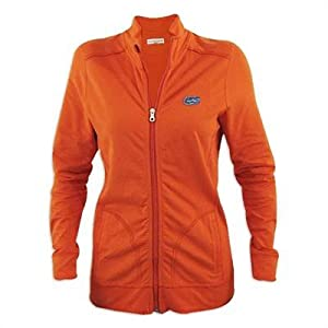 Florida Gators Ladies Cutter and Buck Ravenna Raw Edge Full Zip Jacket by Cutter & Buck