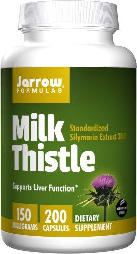 凑单品:Jarrow FORMULAS 杰诺 Milk Thistle 奶蓟草英华 200粒