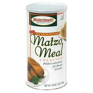 Manischewitz Matzo Meal Unsalted (16Oz)