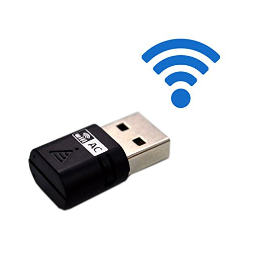 TopePop AC600 600Mbps USB WIFI Adapter Dongle Daul Band Speed Up to 5GHz 433Mbps and 2.4GHz 150Mbps Mini Wireless USB 2.0 Wifi Adapter Network Adapter for Windows XP VISTA 7 8 10 and Mac OS Desktop (Desktop Wireless Card Windows 8 compare prices)