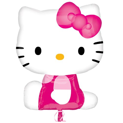 Mayflower Distributing Hello Kitty Shaped Foil Balloon - 1