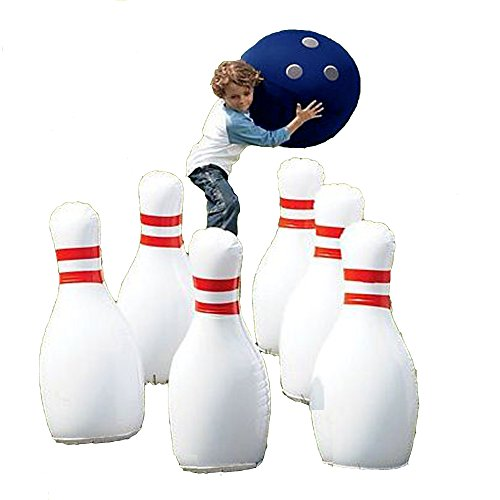 Yinarts Indoor/outdoor Giant Inflatable Bowling Game with 29