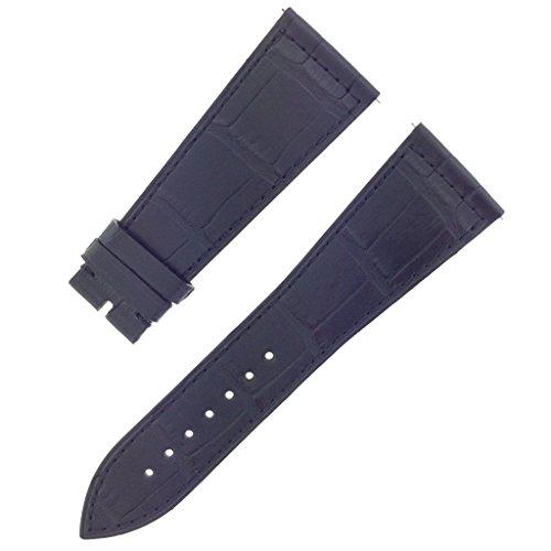 franck-muller-08c-26-19mm-genuine-alligator-leather-matte-black-watch-band