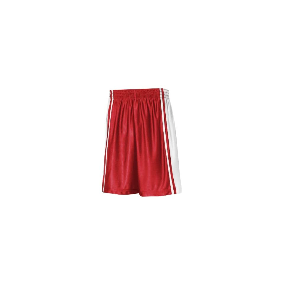 893a92d93 Court Dazzle Basketball Uniform Shorts WHITE SCARLET A3XL on PopScreen