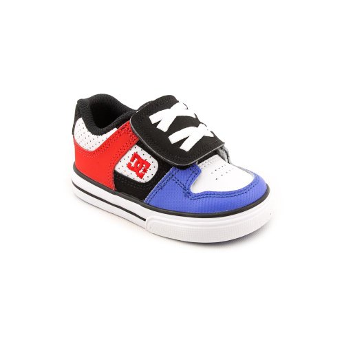 DC Pure V Skate Shoes Black Toddler Boys