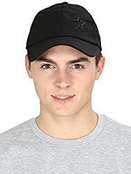 ILU Black Caps for men and womens, Baseball cap, Hip Hop, snapback Cap, hiphop caps, trucker caps, Snapback, dad caps, hats, hat, black cap,girls, boys,plain,cotton caps, star cap,mesh caps,Skull,Running,Walking,Sports,Athletic,Cricket,Basketball,Workout, Cycling Bike, Stylish, Fashion, Flex Fit, Free Size, Unisex Caps