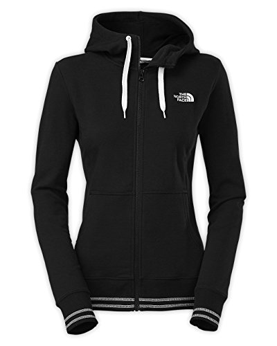 The North Face Women's Logo Stretch Full Zip Hoodie TNF Black Medium