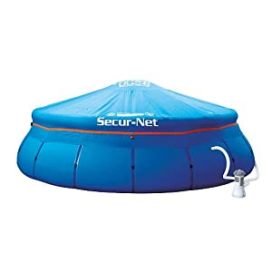 18- Foot Secur-net Child Safe Pool Cover for Soft Sided Pools