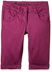UFO Girls' Shorts (AW16-NDF-GKT-407_Purple Wine_6 - 7 years)