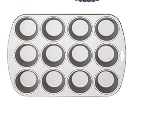 Kaiser Bakeware Homebake Non-stick 12-cup Cup Cake Muffin Pan