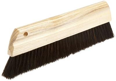 """Magnolia Brush 190 Concrete Finishing Brush, Horsehair Bristles, 2"""" Trim, 12"""" Length (Case of 12)"""