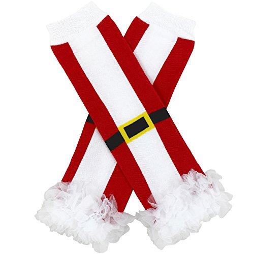 Santa Cotton Leg Warmers