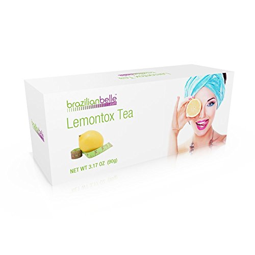 LemonTox Detox & Diet Tea - Weight Loss Skinny Teatox For Skin Health, Fat loss, Body Cleanse, Appetite Control & Overall Well-Being - 100% Natural Lemongrass Tea - Inspired by Lemon Detox Diet