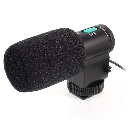Dslr Camcorder Mic-109 Directional Stereo Microphone W Carrying Bag