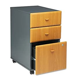 Series A Pedestal File - Cherry/Slate