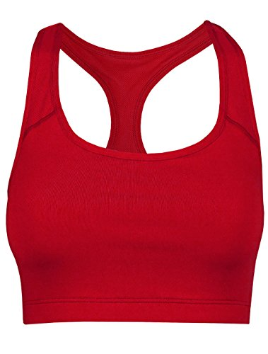 Red Reversible Sports Bra