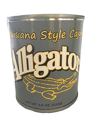 Canned Louisiana Aligator Meat (Canned Rattlesnake compare prices)