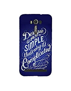 Aart 3D Luxury Desinger back Case and cover for Asus Zenfone 2 Laser Ze500KL created by Aart store