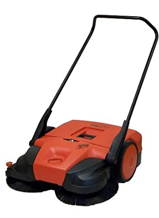 """Oreck Commercial PPS40B Triple Brush Push Battery Powered Sweeper, 31"""" Width"""