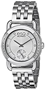 ESQ Movado Women's 07101462 Classica Analog Display Swiss Quartz Silver Watch