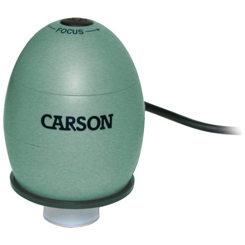 Carson Mm-480G Zorb(Tm) Usb Digital Microscope With 35X Optical Zoom (Safari Green )