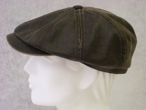 Stetson Hatteras 'Old' Newsboy Cap (Large)