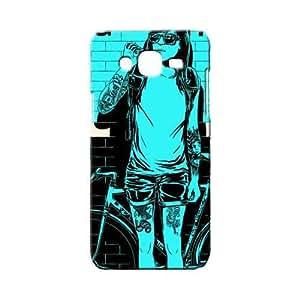 BLUEDIO Designer 3D Printed Back case cover for Samsung Galaxy A7 - G0902