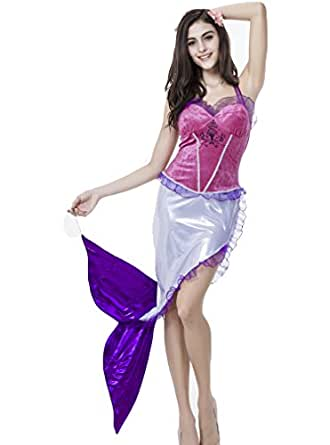 OURS Halloween Sexy Women's Mermaid Costume Cosplay Dress