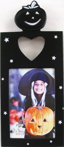 Halloween Photo Frame, Jak O' Lantern (carved pumpkin)