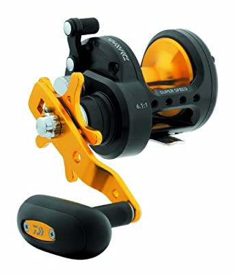 Daiwa Saltist Black Gold Conventional Reel - STT20H/30H/40H from Daiwa