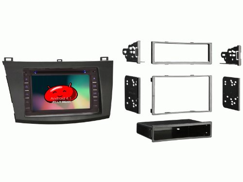 Ottonavi Mazda 3 2010-2013 In-Dash Double Din Android Multimedia K-Series Navigation Radio With Complete Kit