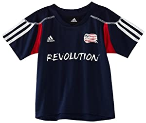 MLS New England Revolution Blank Home Call Up Jersey, 4-7 Boys by adidas