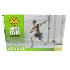 Buy Gold's Gym Home Gym Total Body Resistance Training Exercise Program Door Attached by Golds Gym