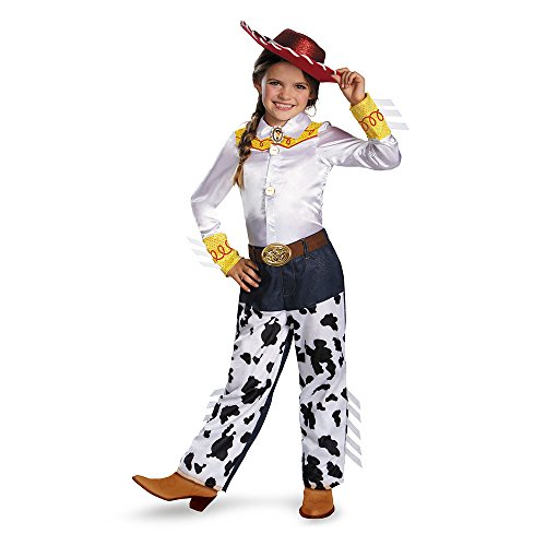 Disguise Disney Pixar Toy Story and Beyond Jessie Prestige Girls Costume, Small/4-6x