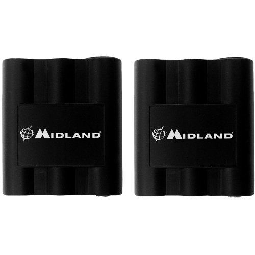 Midland MDLAVP7 Rechargeable Batteries for MDLLXT210, MDLLXT310, MDLLXT410 & GXT Series Two-Way Radios (Pair)