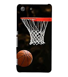 BASKETBALL THE GREATEST SPORT OF ALL TIME 3D Hard Polycarbonate Designer Back Case Cover for Sony Xperia SP :: Sony Xperia SP M35h