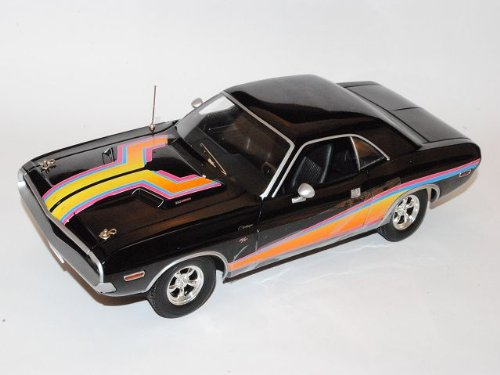 Dodge Challenger R/T 1970 Coupe Schwarz Matco Tools 1/18 Greenlight Modell Auto