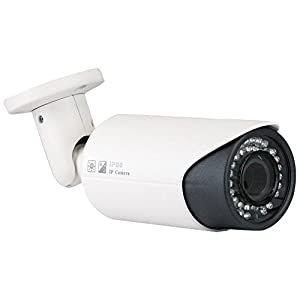 GW Security 8 Channel 1080P PoE NVR HD IP Security Camera System with 6 x 1.3MP 2.8-12mm Varifocal Outdoor 960p IP Camera